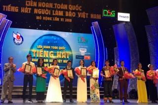 Bán kết Liên hoan Tiếng hát Người làm báo Việt Nam 2018 khu vực miền Nam