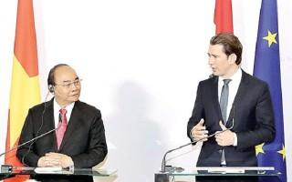 Thủ tướng Nguyễn Xuân Phúc thăm Áo: Thúc đẩy giao thương Việt Nam - EU