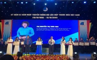 """Cán bộ Hội Tây Ninh nhận giải thưởng """"15 tháng 10"""""""