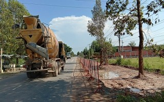 Tăng cường các biện pháp đảm bảo an toàn giao thông tại các dự án đường 782-784 và Đất Sét-Bến Củi