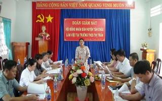 Tân Châu: Giám sát công tác thu-chi tại các trường học