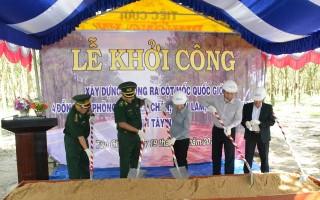 Biên phòng Tây Ninh: Khởi công xây dựng đường tuần tra biên giới ở Tân Châu