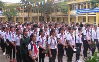 Tân Biên: Khai mạc kỳ thi chọn học sinh giỏi THCS vòng huyện