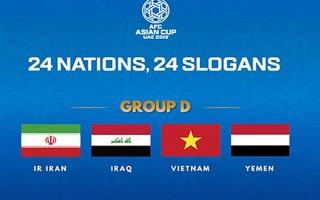 AFC phát động cuộc bình chọn slogan cho ĐT Việt Nam tại Asian Cup 2019