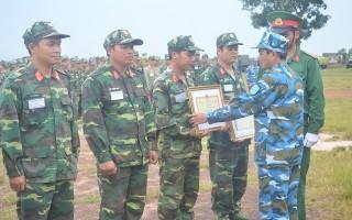 Sư đoàn 5 đạt giải nhất Khối bộ đội chủ lực