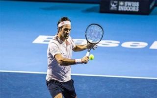 Federer lần thứ 12 liên tiếp vào bán kết Basel Mở rộng