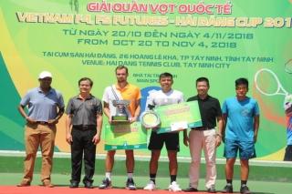 Lý Hoàng Nam đạt ngôi Á quân Vietnam F4 Futures - Hải Đăng Cup 2018