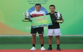 Hoàng Nam và Quốc Khánh vô địch đôi nam Vietnam F4 Futures – Hải Đăng Cúp 2018