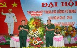 Đại hội Thi đua quyết thắng lực lượng vũ trang tỉnh