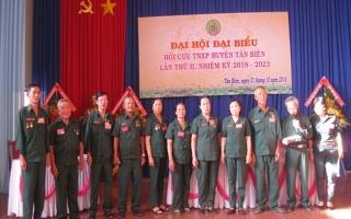 Đại hội Đại biểu Hội Cựu TNXP huyện Tân Biên