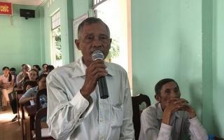 Đại biểu HĐND tỉnh, huyện tiếp xúc cử tri thị trấn Châu Thành và xã Trí Bình