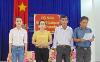 Thành lập HTX dịch vụ nông nghiệp Long Khánh