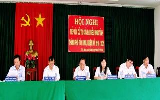 Chủ tịch UBND tỉnh tiếp xúc cử tri xã Tân Bình.