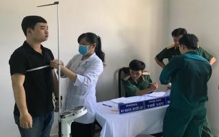 Tổ chức đợt khám sức khỏe nghĩa vụ quân sự năm 2019
