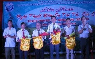 Liên hoan nghệ thuật Đờn ca tài tử cải lương các xã điểm xây dựng nông thôn mới tại Tân Biên