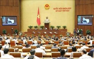 Hôm nay 6/11, Quốc hội thảo luận về đẩy mạnh tự chủ đại học và trần quân hàm công an
