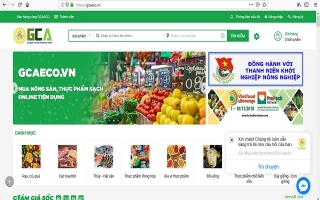 Ra mắt 'chợ online' nông sản, thực phẩm sạch