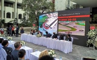 Hà Nội đăng cai chặng đua F1 vào tháng 4/2020