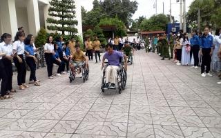 Thành đoàn TP.Tây Ninh: Tổ chức giao lưu với người khuyết tật
