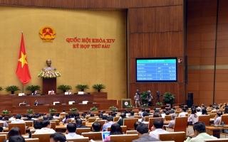 Quốc hội chốt chỉ tiêu GDP 2019 tăng 6,6-6,8%