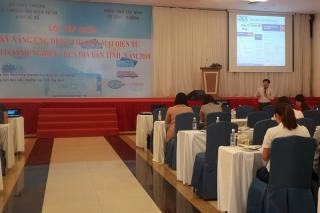 Tập huấn nâng cao kỹ năng ứng dụng thương mại điện tử cho doanh nghiệp