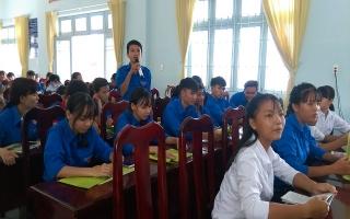 Huyện đoàn Dương Minh Châu: Tổ chức Diễn đàn Tuyên truyền, giáo dục pháp luật về phòng chống tội phạm