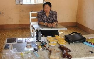 CA Tân Biên bắt 2 đối tượng buôn bán ma túy