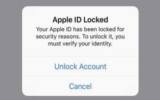 Một số người dùng Apple bất ngờ bị khóa Apple ID
