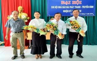 Đại hội Chi hội nhà báo Đài PTTH Tây Ninh