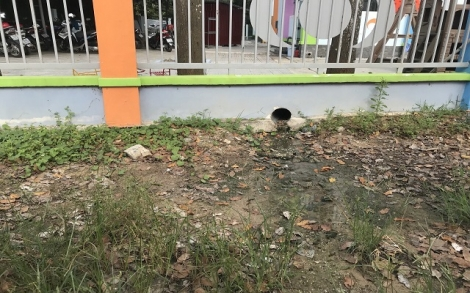 Sẽ xây bể chứa mới, khắc phục nước chảy ra đường