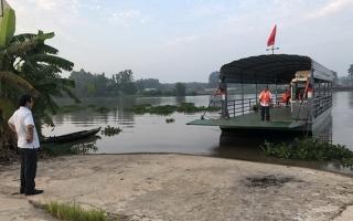 Đưa vào sử dụng bến khách ngang sông Gò Nổi  – An Bình