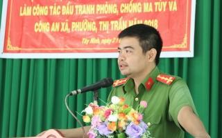 Tập huấn công tác phòng, chống ma túy cho lực lượng chuyên trách