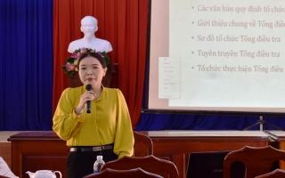 Huyện Dương Minh Châu: Tập huấn tổng điều tra dân số và nhà ở năm 2019