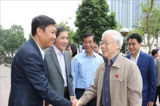 """Tổng Bí thư, Chủ tịch nước Nguyễn Phú Trọng: """"Không bao giờ nhụt chí trong phòng, chống tham nhũng"""""""