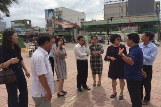Bộ Xây dựng kiểm tra, khảo sát thực tế đô thị mở rộng tại Hòa Thành