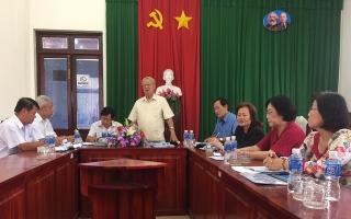 Kiểm tra công tác xây dựng xã hội học tập tại Hoà Thành
