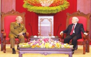 Làm sâu sắc hơn nữa mối quan hệ hữu nghị truyền thống đặc biệt Việt Nam - Cuba