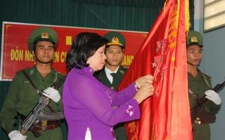 Bộ đội Biên phòng Tây Ninh thi đua làm theo lời Bác