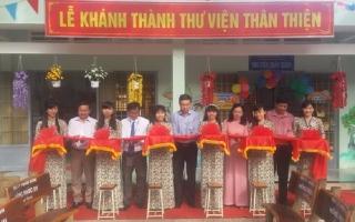 Khánh thành thư viện thân thiện Trường Tiểu học Thị trấn A, huyện Dương Minh Châu