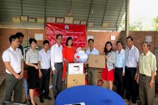 Liên minh HTX Việt Nam nghiệm thu, bàn giao thiết bị hỗ trợ HTX