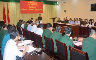 Khảo sát sửa đổi Luật Dân quân tự vệ