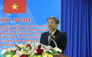TAND Tây Ninh: Trao đổi, chia sẻ kinh nghiệm với Toà án Tboung Khmum