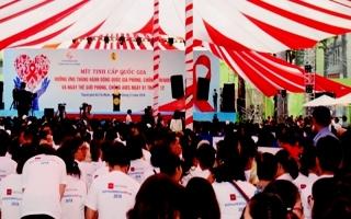 Bộ Y tế: Mít tinh hưởng ứng Tháng hành động quốc gia phòng, chống HIV/AIDS và Ngày Thế giới phòng chống AIDS năm 2018