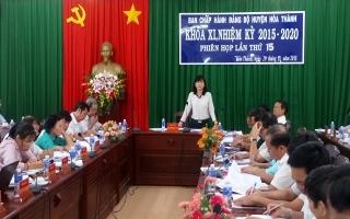 Tình hình kinh tế Hoà Thành tiếp tục tăng trưởng ổn định