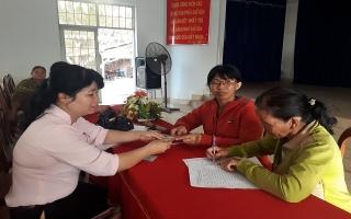 Hội LHPN huyện Dương Minh Châu: Giải ngân vốn cho hội viên, phụ nữ nghèo