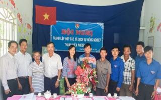 Trảng Bàng: Thành lập Hợp tác xã dịch vụ nông nghiệp thanh niên Phước Chỉ