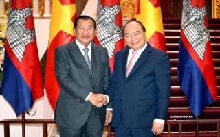 Thúc đẩy hơn nữa quan hệ hợp tác hữu nghị Việt Nam-Campuchia