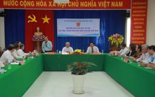 Giao ban cụm thi đua Uỷ ban Đoàn kết Công giáocác tỉnh miền Đông Nam bộ
