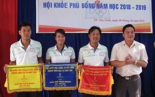 TP.Tây Ninh tổng kết Hội khỏe Phù Đổng năm học 2018-2019
