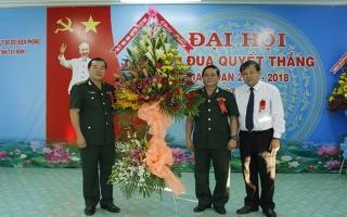 Đại hội Thi đua Quyết thắng Bộ đội Biên phòng tỉnh giai đoạn 2013 - 2018